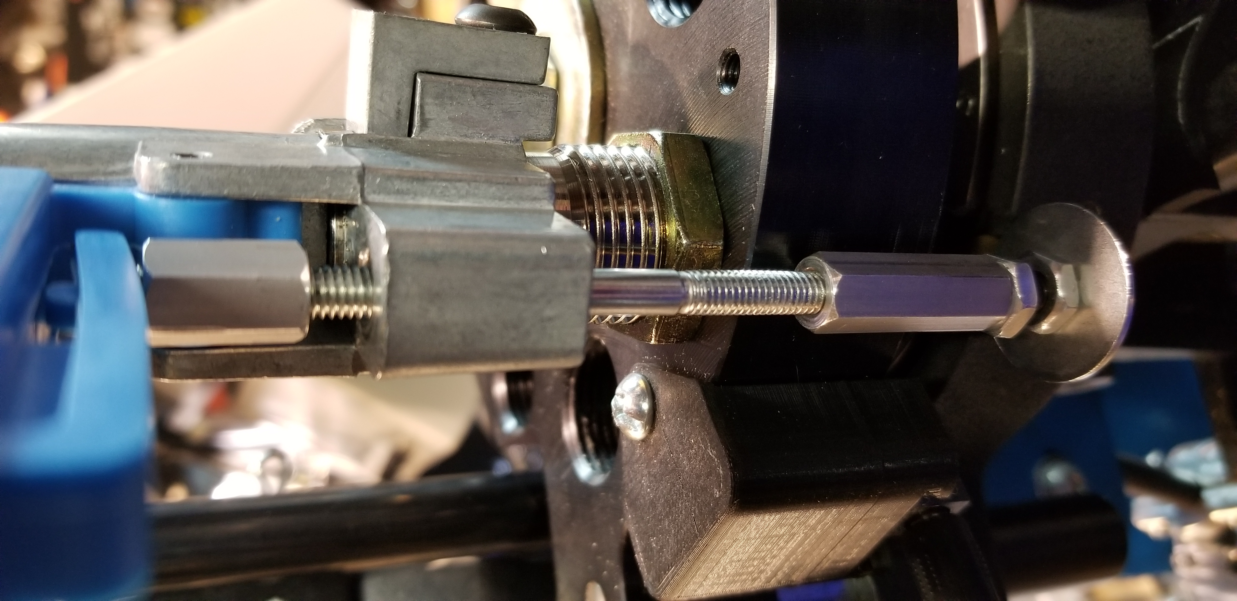 Immortal Arms ™ Powder Check adapter for the CNC toolhead