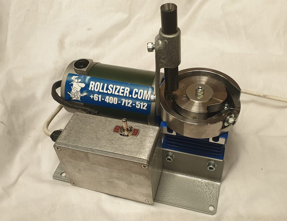 Compact DC Electric Rollsizer